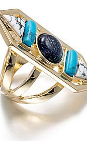 Ringe Euro-Amerikansk Daglig Smykker Legering Ring 1 Stk.,En størrelse Multifarvet