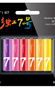 ZMI zi7 AAA bateria alkaliczna 1.5V 6 szt