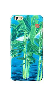För Frostat Läderplastik Mönster fodral Skal fodral Träd Hårt PC för AppleiPhone 7 Plus iPhone 7 iPhone 6s Plus iPhone 6 Plus iPhone 6s