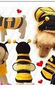 Perros Abrigos Amarillo Ropa para Perro Invierno Un Color Adorable