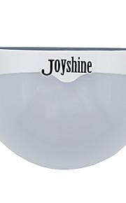 joyshine n760d colorido 5050smd llevó la lámpara de pared del control de luz de energía solar - blanco