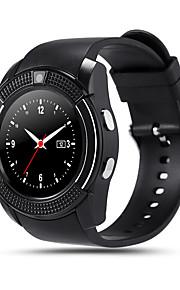 1.22inch mtk6261 apoiar sim TF câmera relógio ranhura Bluetooth 0.3m mtk6261d relógio inteligente para ios android