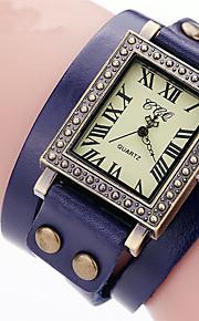 Masculino Infantil Unissex Relógio Esportivo Relógio de Moda Relógio de Pulso Bracele Relógio Quartzo / Couro BandaVintage Pontos Boêmio