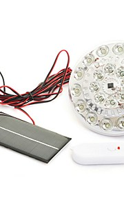 1pcs solar 22 ført innendørs utendørs sikkerhet lampe fjernkontroll flom lys landskapet lampe for plen uteplass taket gjerde basseng dam