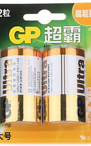 gp gp13au-2il2 d alkalinebatterij 1,5 V 2 st