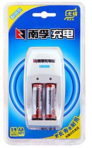 NANFU AA Nickel Metal Hydride Rechargeable Battery 1.2V 1600mAh 3 Pack