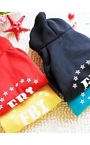 Собаки Плащи Несколько цветов Одежда для собак Зима Буквы и цифры На каждый день Спорт