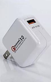 Cargador Portátil Para iPad Para Teléfono Móvil Para Táblet Para iPhone 1 Puerto USB Enchufe USA