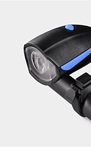 Bike Lights Front Bike Light Cycling Waterproof Rechargeable Compact Size With Horn Lithium Battery USB Lumens USB Natural WhiteEveryday