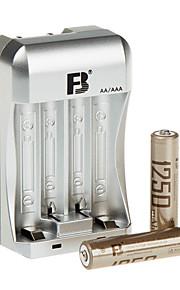 fb FB13 aaa NiMH oplaadbare batterij 1.2V 1250mAh 2 st