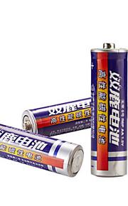 5 AA-batterier 40 kapslar låg strömförbrukning barnleksaker rakkniv radioväggklocka mus och tangentbord etc.
