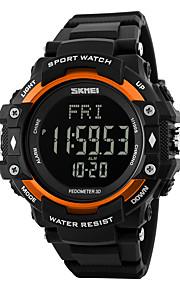 Masculino Mulheres Relógio Esportivo Relógio de Pulso DigitalLCD Calendário Impermeável alarme Monitor de Batimento Cardíaco Podômetro