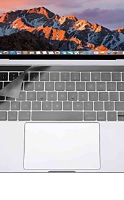 XSKN® Ultra Thin Keyboard Cover for Macbook Pro 13 15 with Touch Bar (A1706/A1707)  Clear TPU Laptop Keyboard Skin Protective Film US Layout