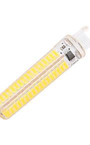 5W G9 G4 BA15D G8 LED 콘 조명 T 136 SMD 5730 400 lm 따뜻한 화이트 차가운 화이트 밝기 조절 장식 AC 220-240 AC 110-130 V 1개