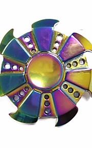 Spinner à main Loisirs Vitesse Porter Circulaire Jouets Métal Aluminium