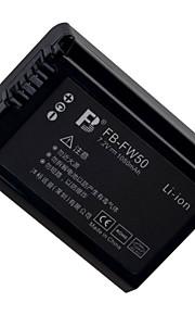 fb NP-FW50 batteria al litio ricaricabile 7.2v 1080mAh 1 confezione