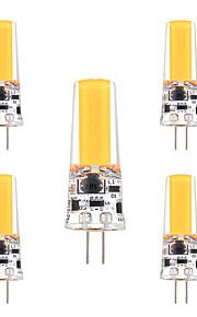 3W G4 LED-lamper med G-sokkel T 1 COB 200-300 lm Varm hvit Kjølig hvit Dekorativ Dimbar AC 12 V 5 stk.