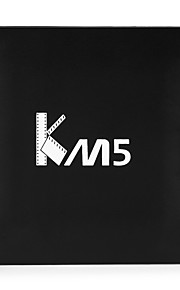 KM5 Amlogic S905X Core Android 6.0 TV Box  RAM 1G  ROM 8G WIFI  Without Bluetooth