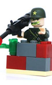 para presente Blocos de Construir Modelo e Blocos de Construção Guerreiro Brinquedos