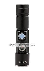 Lanternas LED LED Lumens 3 5 Modo Cree XP-E R2 Tamanho Compacto Tamanho PequenoCampismo / Escursão / Espeleologismo Uso Diário Ciclismo