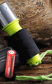 Belysning LED Lommelygter Lommelygter LED 1600 Lumen 3 Tilstand Cree XM-L T6 18650Camping/Vandring/Grotte Udforskning Dagligdags Brug