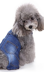 Cat Dog Clothes/Jumpsuit Dog Clothes Winter Spring/Fall British Fashion Casual/Daily Cowboy
