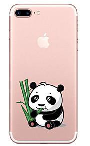 Para Transparente Estampada Capinha Capa Traseira Capinha Desenho Macia TPU para AppleiPhone 7 Plus iPhone 7 iPhone 6s Plus iPhone 6 Plus