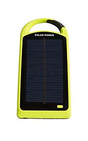 8000mAhmAh전원 은행 외부 배터리 태양열 충전 멀티 출력 플래쉬 라이트 8000mAh 1000mA / 1000mA 태양열 충전 멀티 출력 플래쉬 라이트