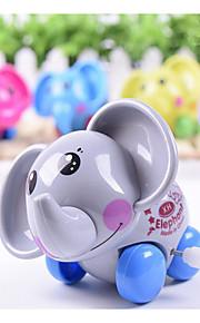 farve tilfældig levering elephant urværk legetøj på kæden snoede legetøj flerfarvet