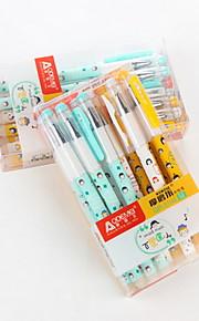 12 PCS Gel Pen Pen Gel Pens PenPlastic Barrel Blue Ink Colors For School Supplies Office Supplies