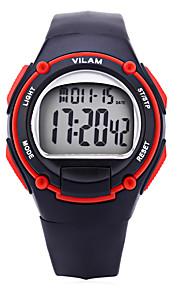Vilam Masculino Mulheres Relógio Esportivo Relogio digital Digital Calendário Cronógrafo Impermeável Luminoso Resistente ao Choque Plastic