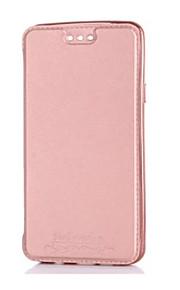 Для Samsung Galaxy a3 (2017) a5 (2017) кейс покрытие держатель карты металлизированный зеркало полный корпус цельный цвет hard pu кожа a7