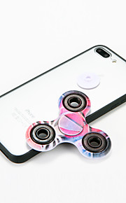 For iPhone 7 Case Fidget Spinner Removable Oil Painting Back Case 3D Cartoon Hard PC for Apple iPhone 7 Plus 6 6s Plus 6 Plus SE 5S 5