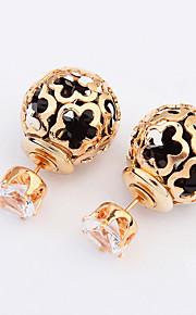 Stangøreringe Smykker Mode Personaliseret Euro-Amerikansk Ædelsten Legering Smykker Smykker For Bryllup Speciel Lejlighed 1 Par