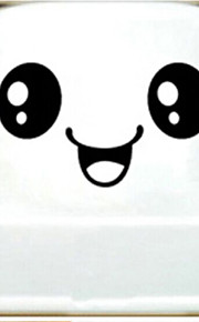 Big Eyes Smiling Toilet Stickers