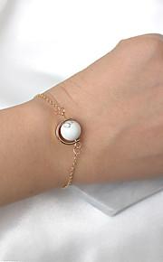Dame Charm-armbånd Mode Harpiks Legering Rund form Smykker For Fest 1 Stykke