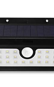 brelongソーラーピラーライト -  20×smd 2835 5w 500lmコードレス防水人体誘導