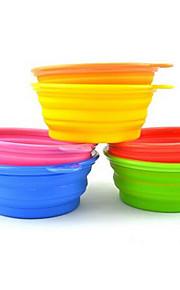 Perro Alimentadores Mascotas Cuencos y Alimentación Color Aleatorio