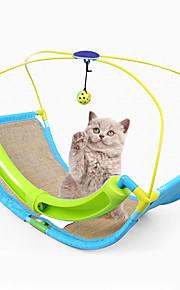 Katteleke Leker til kjæledyr Interaktivt Holdbar Klømatte Plastikk Sisal
