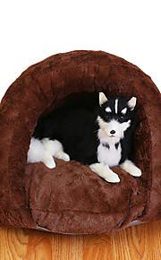 Katze Hund Betten Haustiere Körbe Solide Weich Braun