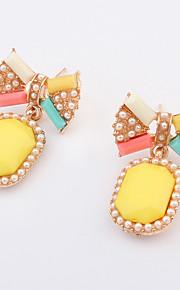 Ørering Smykker Personaliseret Euro-Amerikansk Mode Ædelsten Legering Smykker Smykker For Bryllup Speciel Lejlighed 1 Par