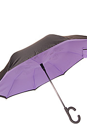 Paraplu met lange stang Metaal Lady Heren