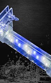 Acuarios Decoración de Acuario Iluminación LED Cambiar Silencioso No Tóxico y Sin Sabor Artificial Con Interruptor(es) AjustableLámpara