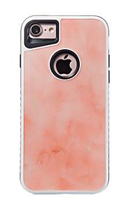 Para o iphone 7 7 mais capa para capa padrão à prova de choque capa traseira caso rígido de mármore para 6s 6 mais 6s 6 se 5s 5