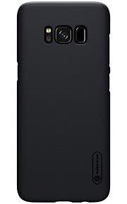 Per Custodie cover Resistente agli urti Effetto ghiaccio Custodia posteriore Custodia Tinta unita Resistente PC per Samsung S8 S8 Plus