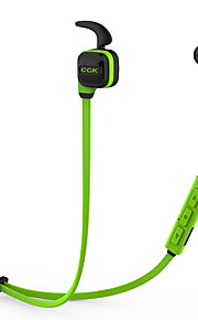 Bluetooth auriculares inalámbricos deportes auriculares estéreo bajo con gancho de oreja mic voz pronta manos libres dsp reducción de