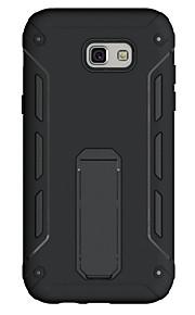 Per Resistente agli urti Con supporto Custodia Custodia posteriore Custodia Tinta unita Resistente PC per SamsungA3 (2017) A5 (2017) A7