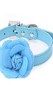 칼라 조절 가능/리트랙터블 통기성 안전 훈련 솔리드 패브릭 레드 블루 핑크