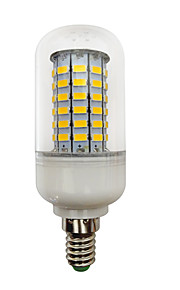 4.5W E14 B22 LED-globepærer T 69 SMD 5730 420 lm Varm hvit Kjølig hvit V 1 stk.