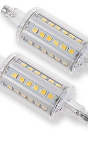 YouOKLight 2PCS R7S 5W 400Lm AC100-265V 78MM 36*2835 SMD Warm White/Cold White 3000K/6000K LED Corn light Lamp